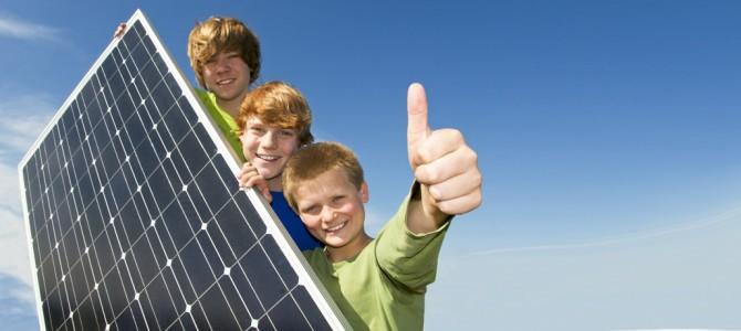 Per un futuro migliore non solo per noi crediamo nell'energia alternativa.